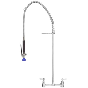 Fisher - 13366 - Spring Style Pre-Rinse Faucet - 8-inch Backsplash Mounted