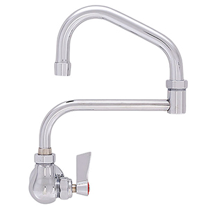 Fisher 19968 - SINGLE BACKSPLASH FAUCET WITH 10-inch SWING SPOUT & 7-inch DJ