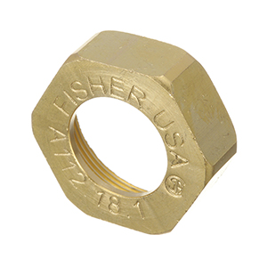 Fisher - 21393 - NUT ROTOR 1/2 BRS