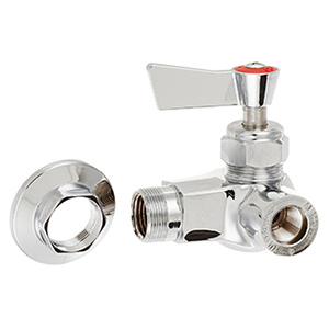 Fisher - 2700 - Single Hole Wall Mounted Control Valve, Rigid Spout Attachement