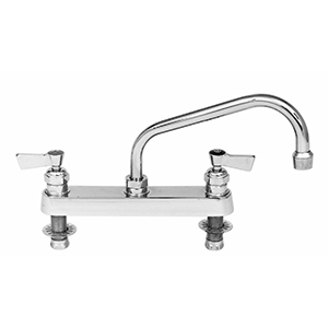 Fisher - 3312 - 8-inch Deck Mounted Faucet - 10-inch Swivel Spout
