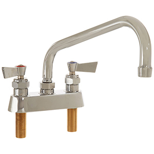 Fisher - 3512 - 4-inch Deck Mounted Faucet - 10-inch Swivel Spout