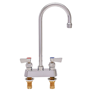 Fisher - 3525 - 4-inch Deck Mounted Faucet - 6-inch Swivel Gooseneck Spout