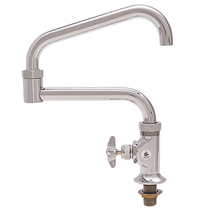 Fisher - 45179 - 3/4-inch Single Hole Deck Mounted Faucet - 20-inch Double Swing Spout