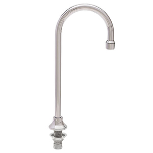 Fisher - 45748 - 8-inch Adjustable Wall Mounted Faucet L - 16-inch Swivel Spout, Wristblade Handles