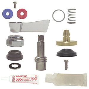 Fisher 5000-0013 - 3/4-inch Left Hand Check Spindle Assembly Repair Kit