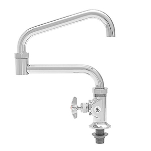 Fisher - 51276 - GLASSFILL ULT Single Hole Wall Mounted, Wall Bracket, 6-inch Add-On Faucet Spout