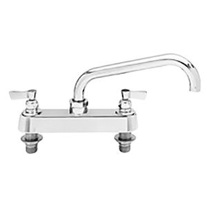 Fisher - 5314 - 8-inch Deck Moutned Faucet - 3/4-inch Inlets - 14-inch Swivel Spout
