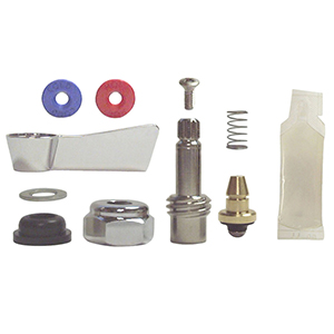 Fisher 54526 Stainless Steel Left Hand Swivel Stem Kit for use with Fisher Stainless Steel No Lead Faucets