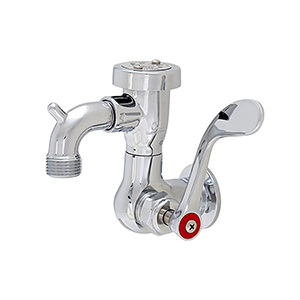 Fisher 55328 - SILL FAUCET WITH VACUUM BREAKER & WRIST HANDLESTAINLESS STEEL